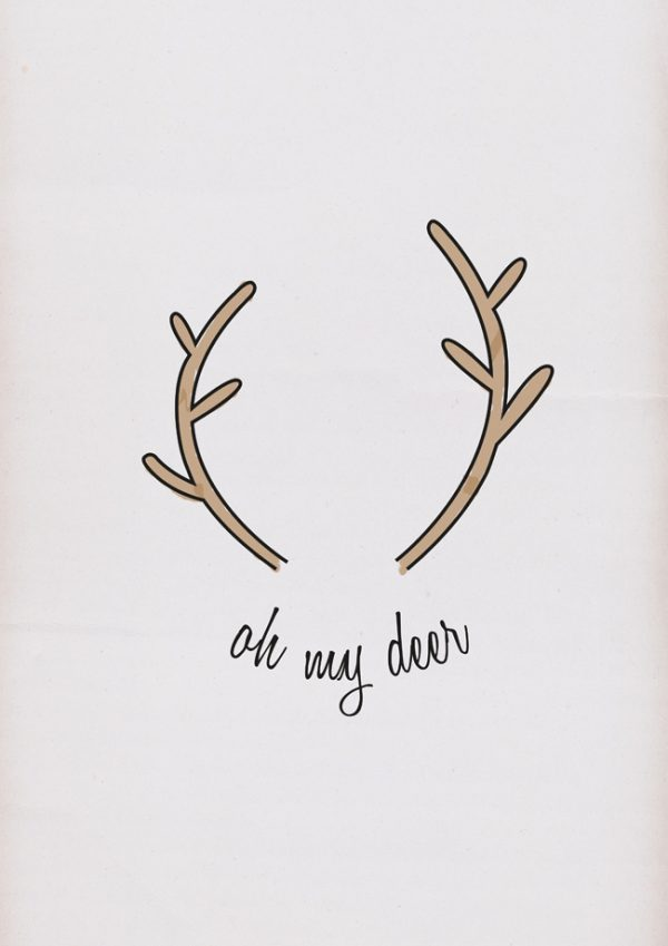 Oh my deer