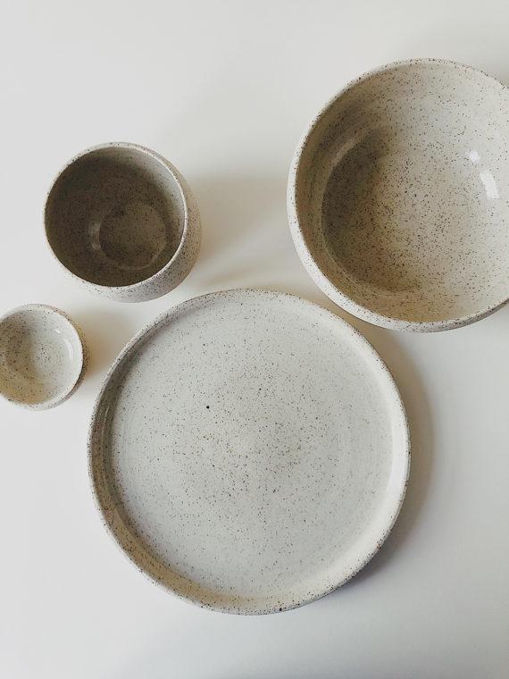 Mini speckled breakfast set XL